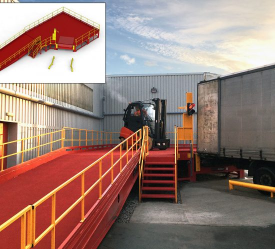 Linde (UK) supports pandemic logistics with a Brexit enabling Loading Bay Service solution